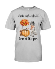 The Most Wonderful Time - English Setter Classic T-Shirt thumbnail