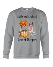 The Most Wonderful Time - English Setter Crewneck Sweatshirt thumbnail