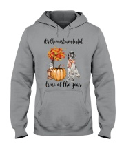 The Most Wonderful Time - English Setter Hooded Sweatshirt thumbnail