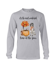 The Most Wonderful Time - English Setter Long Sleeve Tee tile