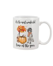 The Most Wonderful Time - English Setter Mug tile