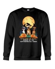 Howloween Staffordshire Bull Terrier 2 Crewneck Sweatshirt thumbnail