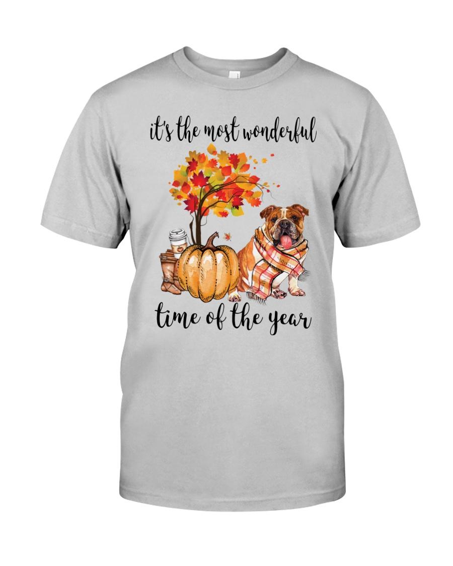 The Most Wonderful Time - Bulldog Classic T-Shirt
