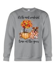 The Most Wonderful Time - Bulldog Crewneck Sweatshirt thumbnail