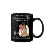 Wine and Dogs Mug thumbnail