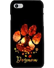 Dog Mom Autumn Leaves Halloween Phone Case thumbnail