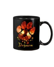 Dog Mom Autumn Leaves Halloween Mug thumbnail