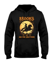 Unicorn Brooms Are For Amateurs Hooded Sweatshirt thumbnail