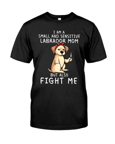 Small and Sensitive Labrador Mom