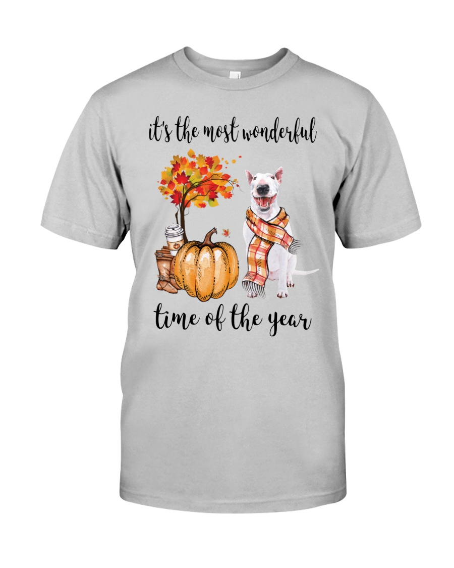 The Most Wonderful Time - Bull Terrier Classic T-Shirt