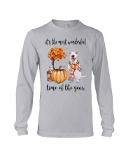 The Most Wonderful Time - Bull Terrier Long Sleeve Tee thumbnail