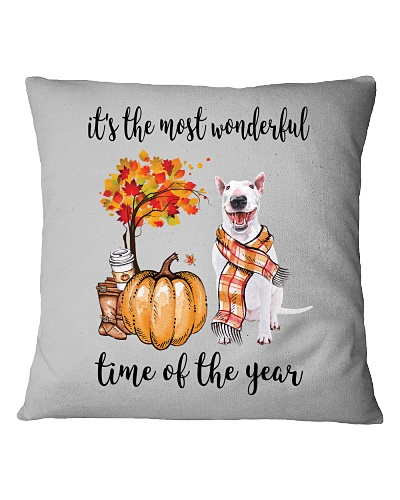 The Most Wonderful Time - Bull Terrier