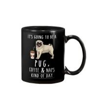 Pug Coffee and Naps Mug thumbnail