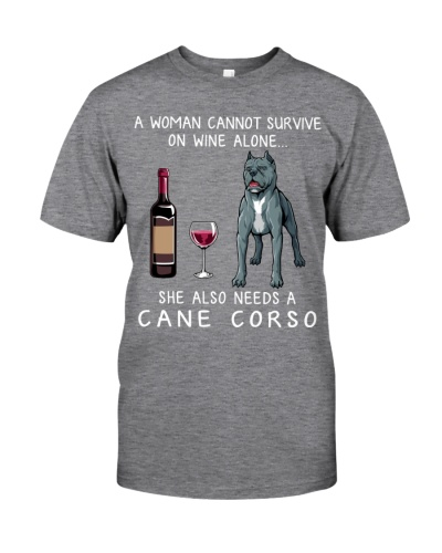 Wine and Cane Corso