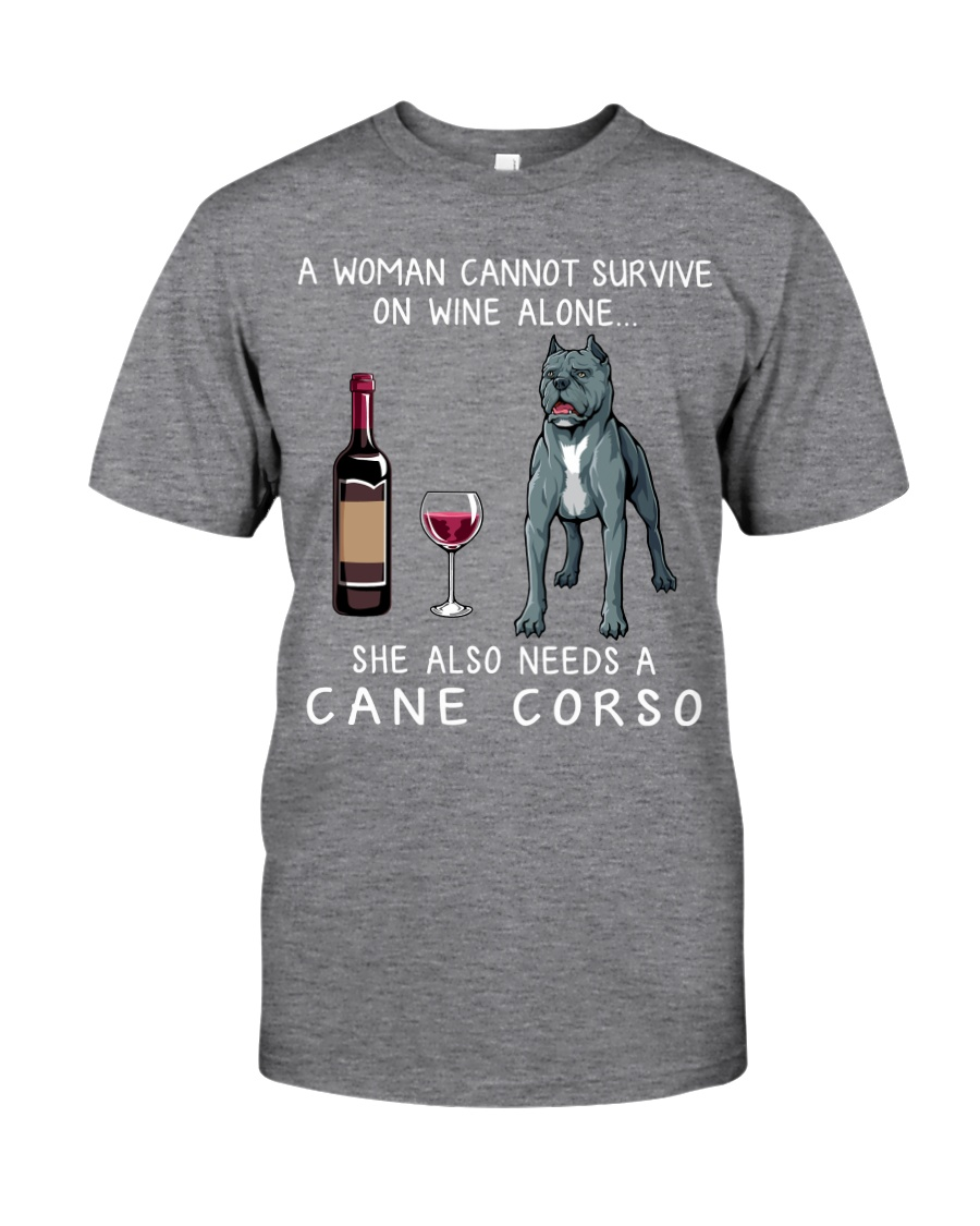 Wine and Cane Corso Classic T-Shirt