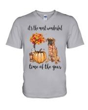 The Most Wonderful Time - Boxer V-Neck T-Shirt thumbnail