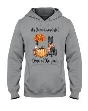 The Most Wonderful Time - Black German Shepherd Hooded Sweatshirt thumbnail