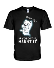 Westie - Boooork 2 V-Neck T-Shirt thumbnail