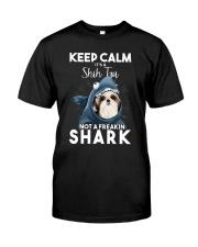It's A Shih Tzu Not A Freakin Shark Classic T-Shirt front