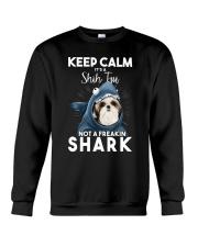 It's A Shih Tzu Not A Freakin Shark Crewneck Sweatshirt thumbnail