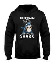 It's A Shih Tzu Not A Freakin Shark Hooded Sweatshirt thumbnail