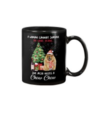 Christmas Wine and Chow Chow Mug thumbnail