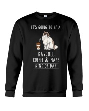 Ragdoll Coffee and Naps Crewneck Sweatshirt thumbnail