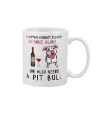 Wine and Pit Bull 2 Mug thumbnail