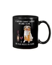 Wine and Aussie Mug thumbnail