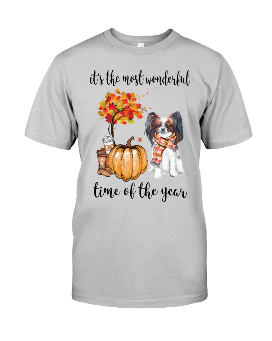 The Most Wonderful Time - Papillon Classic T-Shirt