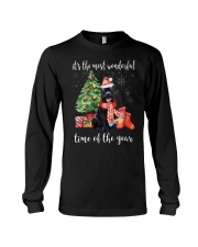 The Most Wonderful Xmas - Staffie Long Sleeve Tee thumbnail