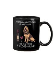 Wine and Bloodhound Mug thumbnail
