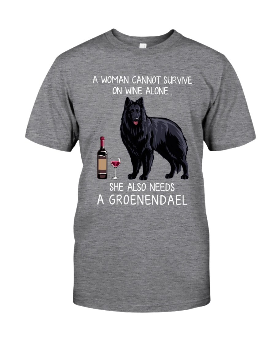 Wine and Groenendael Classic T-Shirt