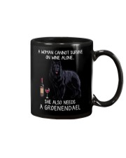 Wine and Groenendael Mug thumbnail