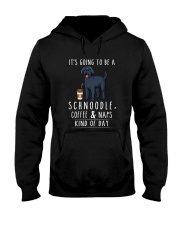 Schnoodle Coffee and Naps Hooded Sweatshirt thumbnail