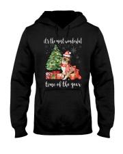 The Most Wonderful Xmas - Sheltie Hooded Sweatshirt thumbnail