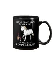 Wine and Camargue Horse Mug thumbnail
