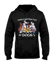 Distracted by Dogs Hooded Sweatshirt thumbnail