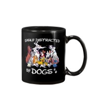 Distracted by Dogs Mug tile
