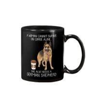 Coffee and German Shepherd Mug thumbnail