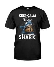 It's An Aussie Not A Freakin Shark Classic T-Shirt front