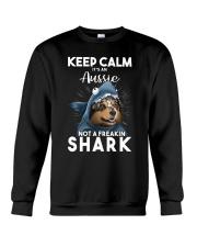 It's An Aussie Not A Freakin Shark Crewneck Sweatshirt thumbnail