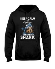 It's An Aussie Not A Freakin Shark Hooded Sweatshirt thumbnail