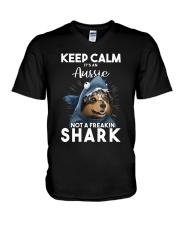 It's An Aussie Not A Freakin Shark V-Neck T-Shirt thumbnail