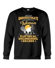 Electrical engineering woman Crewneck Sweatshirt thumbnail