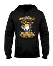 Electrical engineering woman Hooded Sweatshirt thumbnail