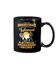 Electrical engineering woman Mug thumbnail