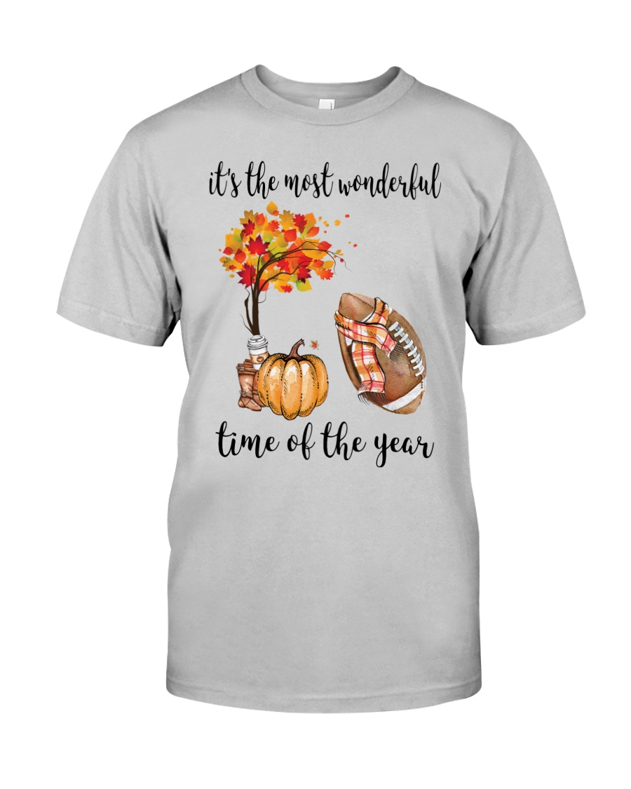 The Most Wonderful Time - American Football Classic T-Shirt