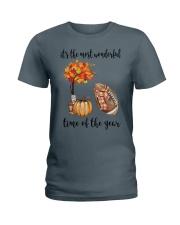 The Most Wonderful Time - American Football Ladies T-Shirt thumbnail