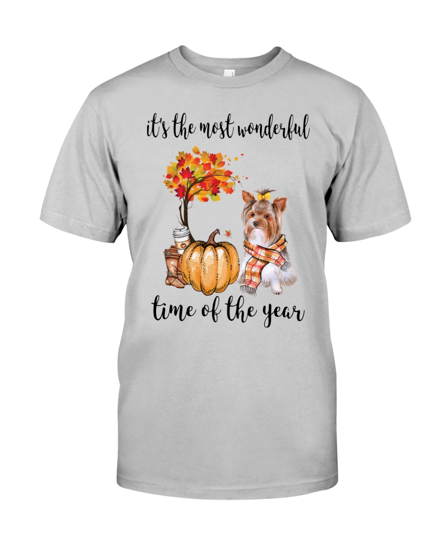The Most Wonderful Time - Yorkie Classic T-Shirt